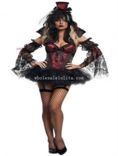 Sexy Adult Womens Vampire Halloween Costume Dress