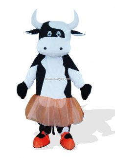 Ballet Adult Cow Halloween Costume