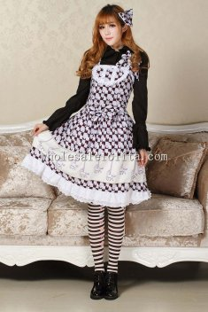 Purple Carousel Sweet Lolita Dress