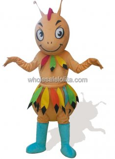 Adult Cave man Ant Plush Mascot Costume