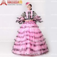 Rococo Baroque Marie Antoinette Renaissance Princess Dress Historical Victorian Period Dress For Ladies
