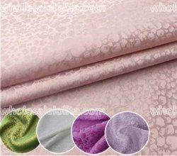 High-End Jacquard Silk Fabric 6 Colors