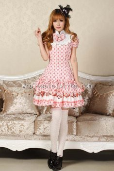 Pink Easter Sweet Lolita Dress for Sale
