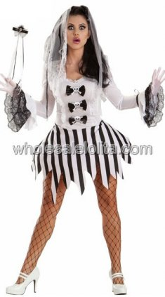 Adult Ghost Bride Halloween Costume