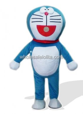 Vivid Doraemon Costume for Adult