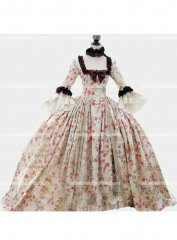 Hot Sale 18th Century Marie Antoinette Victorian Dress Prom/Wedding Dress Ball Gown