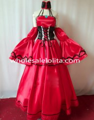 New Vocaloid Meiko Cosplay Red Dress