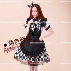Anime Cosplay Lolita Dress Coffe Bar Princess Dress