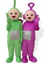 Adult Size Purple Teletubbies Mascot Costume