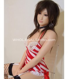 Mimic 1:1 Full Body Silicone Half-solid Inflatable Love Doll, Water-injected Breasts, Realistic Hands & Feet