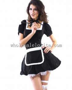 Back Lace up Maid for Call Costume