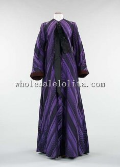 1940s American Culture Silk Dressing Gown