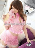 Sweet Pink Mini Princess Cheongsam
