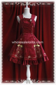 The Emperor's Nightingale Birdcage Embroidery JSK Lolita Dress