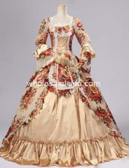 17-18th Century Rococo Marie Antoinette Wedding Ball Gown Prom Dress