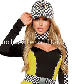 Charming Racing Driver Uniform for Women