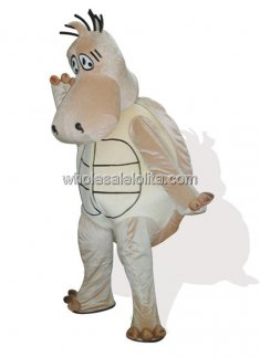 Brown Plush Tortoise Costume