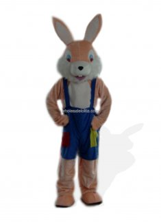 Apricot Bunny Costume for Adult