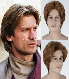 Jaime Lannister in TV Play GAME of THRONES Cosplay Wig