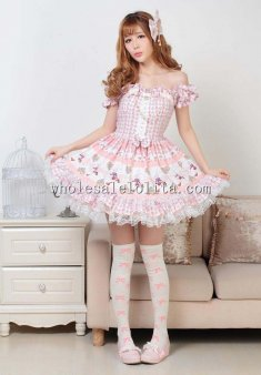 Pink Princess Sweet Lolita Dress for Girl