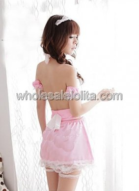 Cheap Sweet Soft Pink Bridal Lingerie