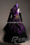 High-grade Purple VOCALOID Megurine Luka Cosplay Costume