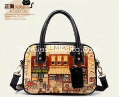 Fashion Doodle Cartoon Print Sweet Lolita Bag Totes Bag Messenger Bag