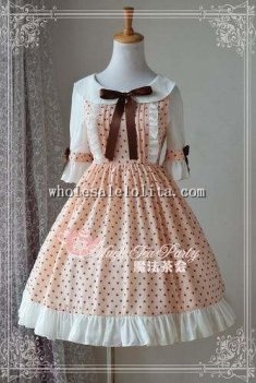 Magic Tea Party Cute Sweetheart Chiffon OP Lolita