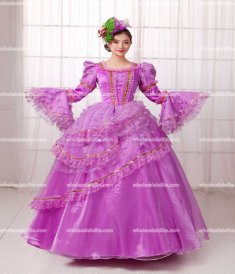 18th Century Rococo Style Marie Antoinette Inspired Prom Dress /Southern Belle Gown