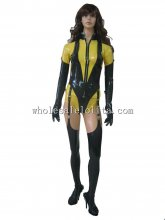 Movie WATCHMAN Character Silk Spectre Cosplay Costume Latex Uniform