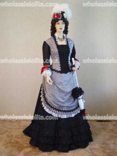 Victorian Promenade/Day Dress Victorian Ball Gown Vintage Dress Holiday Dress