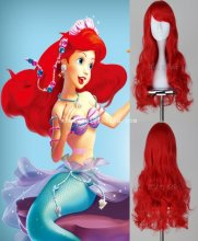 The Little Mermaid/Ariel Cosplay Wig Halloween Costume Wig