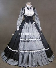 19th Century Victorian Gothic Lolita Dress Gown Renaissance Faire Clothing