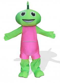 Green Plush Adult Fairy Monster And Fantasy Costume