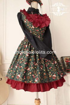 New Vintage Folk Tale Sweet Lolita Dress