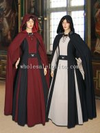 Medieval Costume Gown Countess 100% Natural Cotton Handmade Maiden Gown Renaissance Clothing