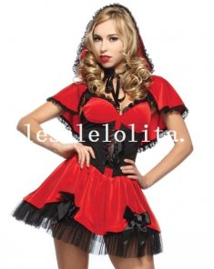Fairytale Little Red Riding Hood Halloween Adult Costume