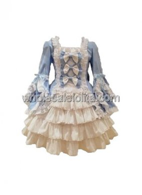 Sweet Baby Blue Lolita Dress