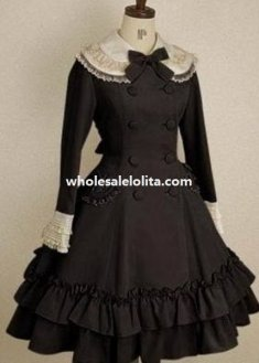 Spring/Autumn Sweet Ruffle Skirt Bow Lolita Jacket for Girls