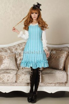 Sky Blue Angel's Sweet Lolita Dress for Girl