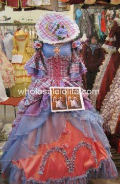 Hot Sale 17 18th century Marie Antoinette Baroque Rococo A Line Prom Celebrity Dresses