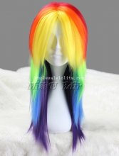 Anime My Little Pony Cosplay Wig