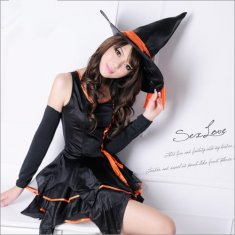 Ladies Lovely Naughty Witch Costume