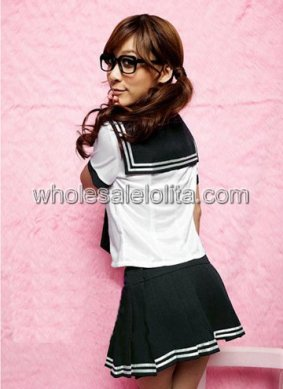 Melting Sexy Japenese School Girl Costume