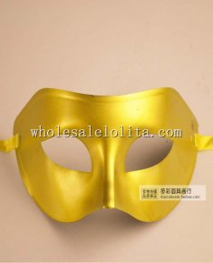 Blank Venetian Halloween Cosplay Masquerade Mask for Men