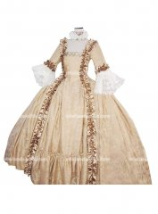 Top Sale Georgian Period Dress 18th Century Marie Antoinette Ball Gown Party Dresses