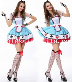 Disney Alice in Wonderland Halloween Costume Dress