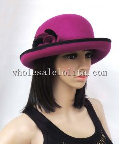 British Wool Ladies Winter Bowler Hat