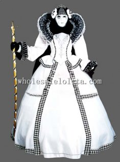 Deluxe Thick Satin Italy CARNIVAL OF VENICE Masquerade Costume for Couple