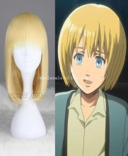 Armin Arlart in Anime Attack On Titan Cosplay Wig